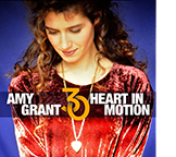 The cover of the 30th anniversary edition of Amy Grant's Heart in Motion