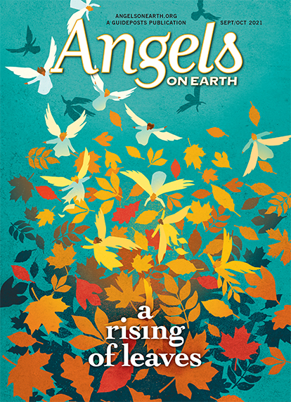 The cover of the September-October 2021 issue of Angels on Earth magazine