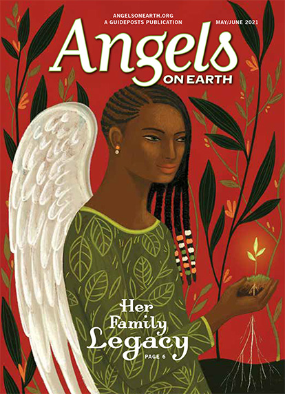 The cover of the May-June 2021 issue of Angels on Earth magazine