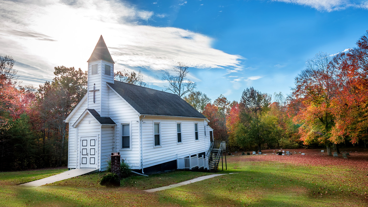 A church in the country