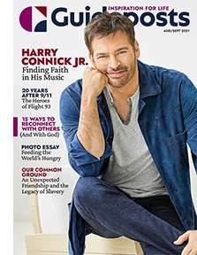 Harry Connick Jr. on the cover of the Aug-Sept 2021 Guideposts