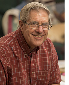 Norm Stolpe; photo by Mike Roemer