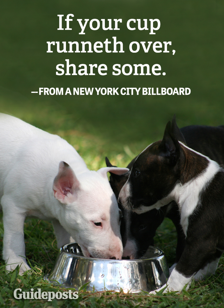 Helping_Others_Graphic_Quote_NYC_billboard_cup_runneth_over