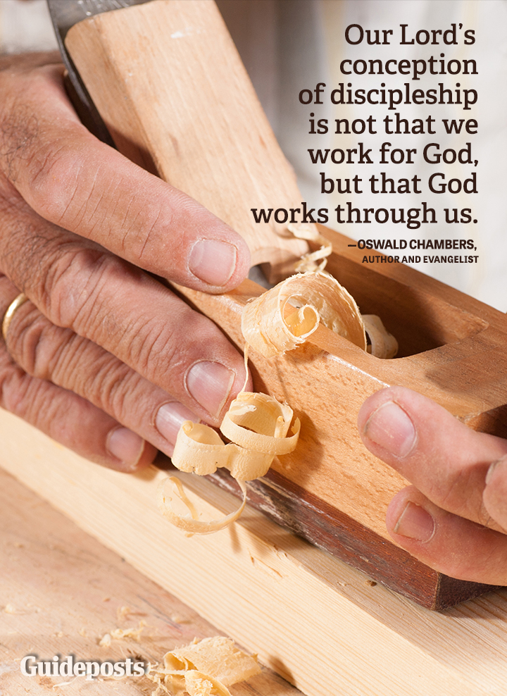 Devotion Graphic Quote Oswald Chambers discipleship God