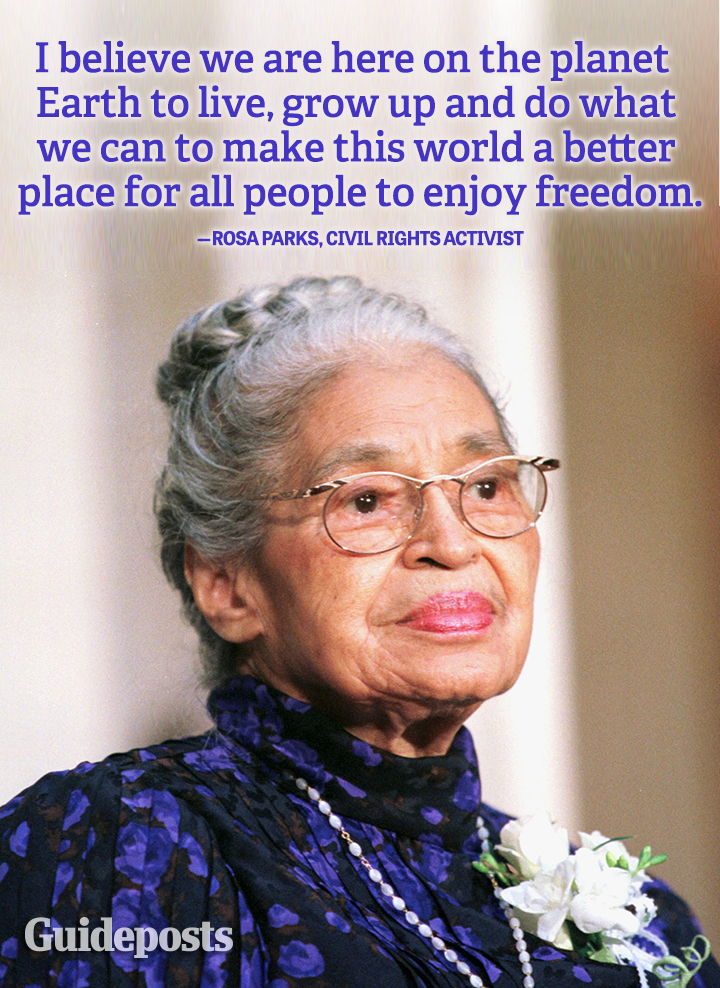 Rosa Parks freedom better place