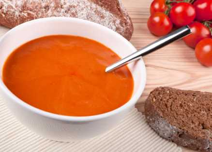 Soup recipes: Low-Cholesterol Tomato Soup