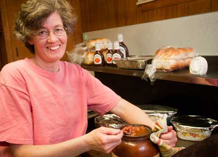 Dinner recipes: Woman finds friends at church supper