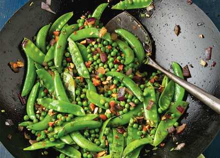 Side dish: Three-Pea Toss