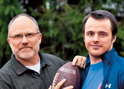 Jay Payleitner and his son Randy
