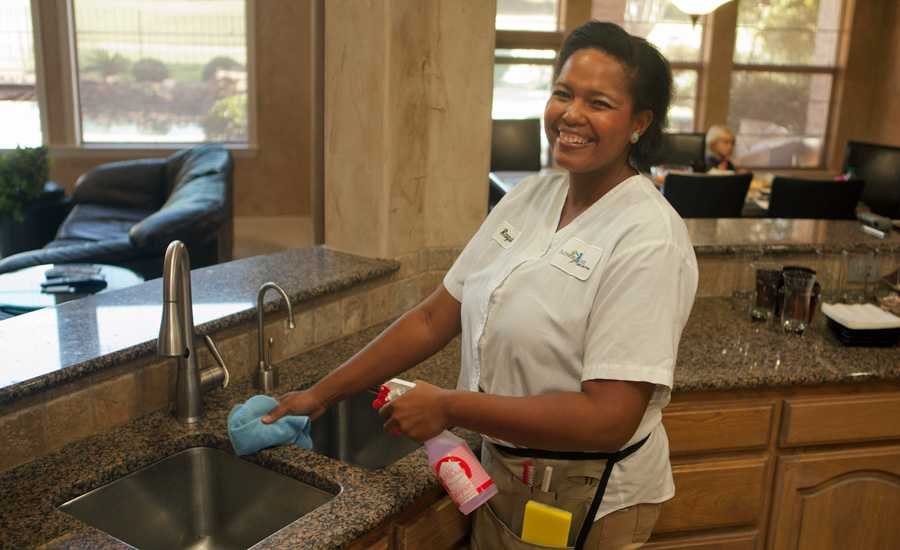 Cleaning for a Reason gives free cleans to cancer patients