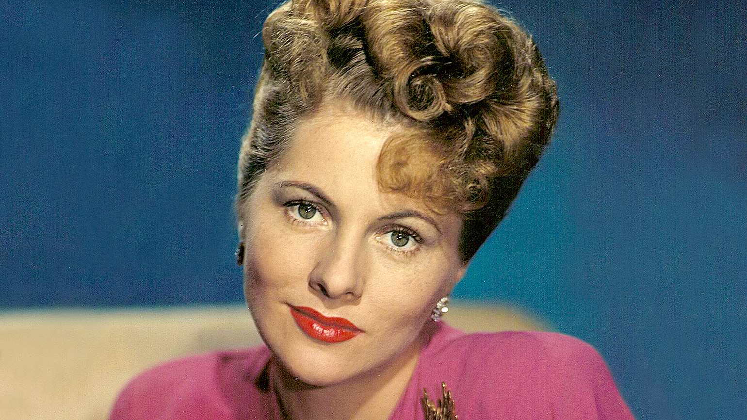 Actress Joan Fontaine