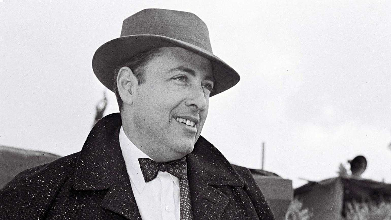 Pulitzer Prize-winning author and playwright Herman Wouk
