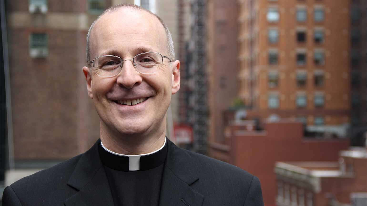 Jesuit priest and best-selling author Father James Martin