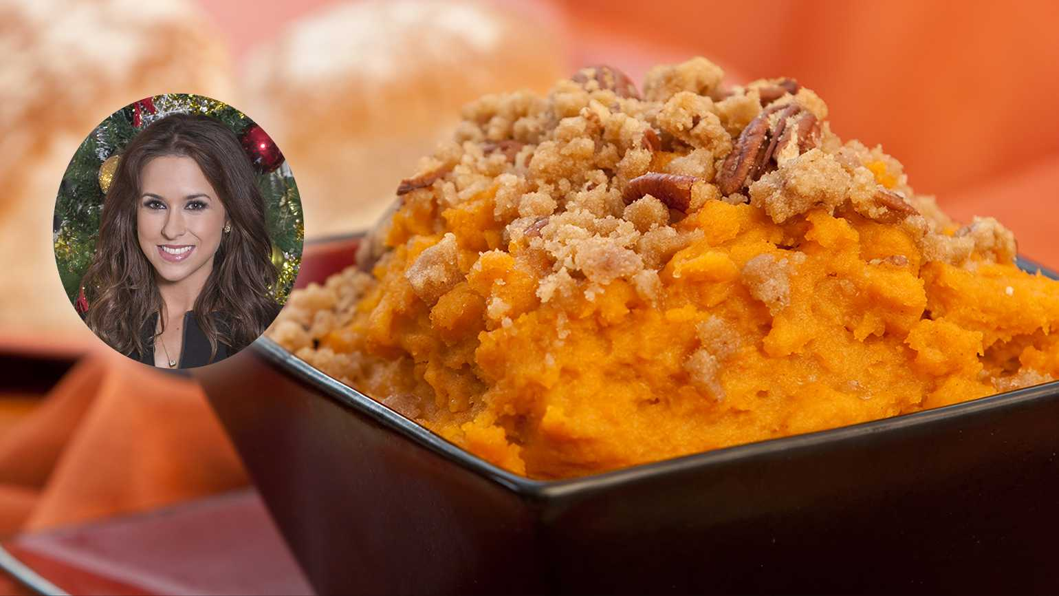 Lacey Chabert's Great-Grandmother's Sweet Potato Casserole