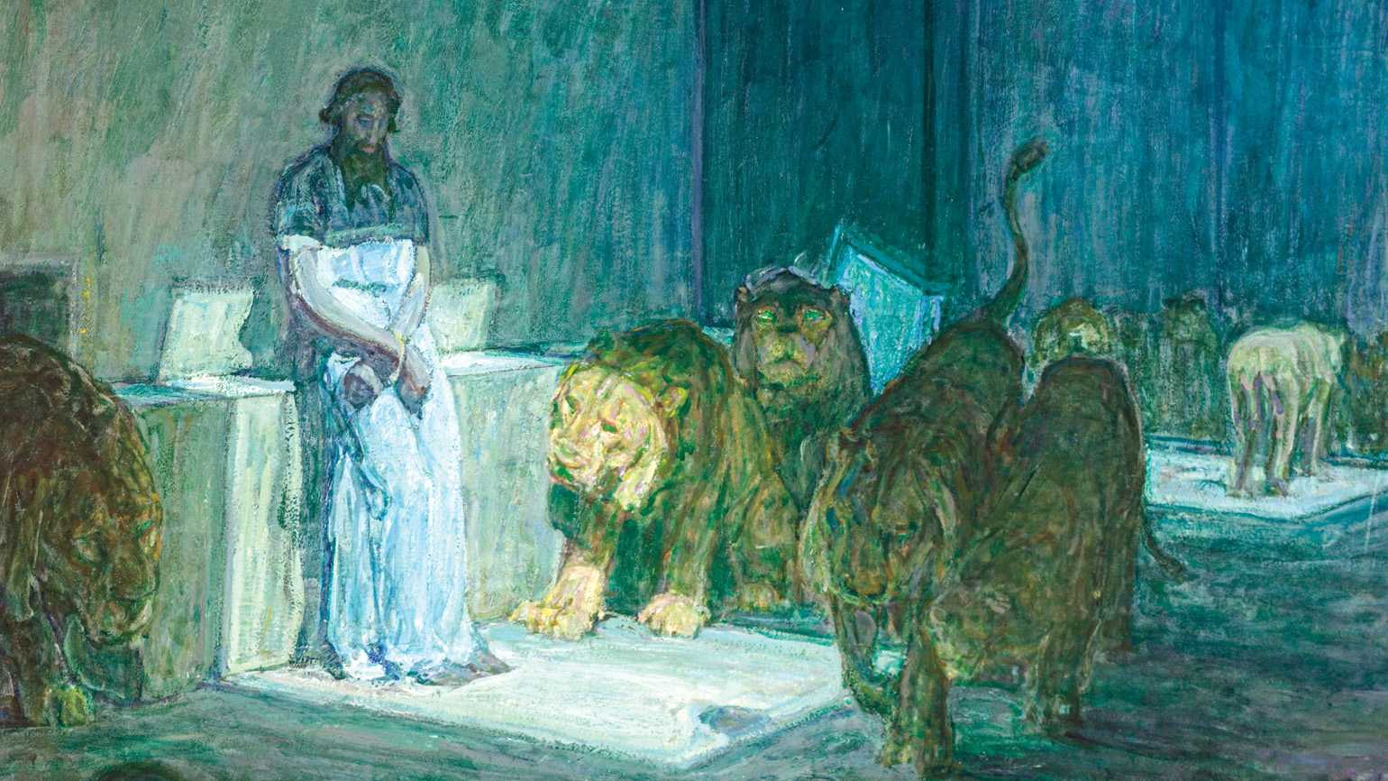 Daniel in the den of lions; Photo credit: LACMA - The Los Angeles County Museum Of Art