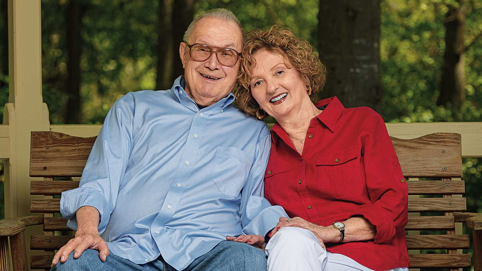 Marion and Gene revisited the things that made them each fall in love.