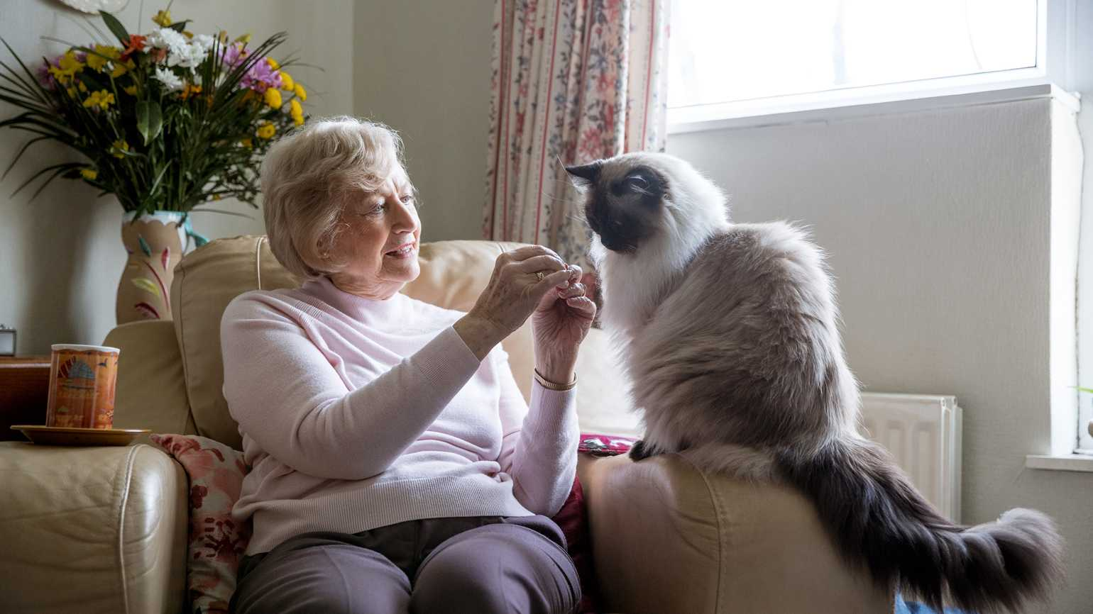 6 Benefits of Pets for People with Alzheimer's
