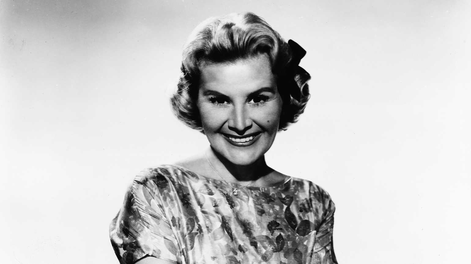 Actress and singer Rose Marie has been in show business since the age of four