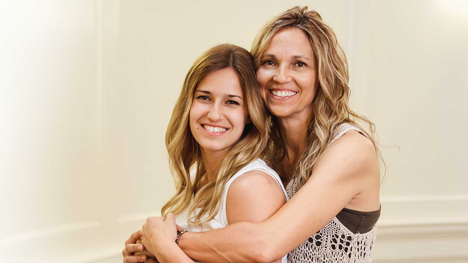 Shelby Spear and her daughter, Kahrin