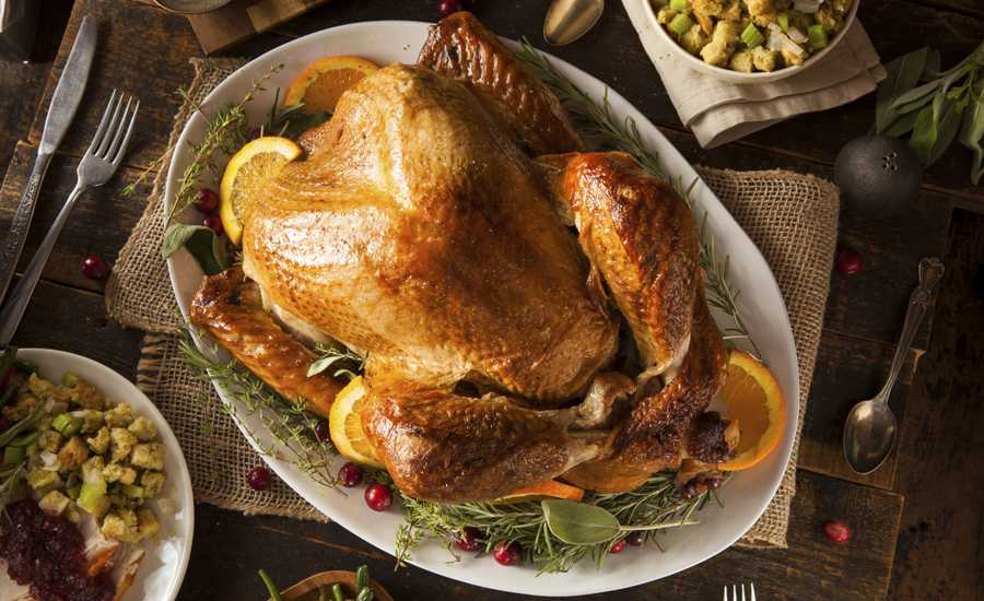 Guideposts: A Thanksgiving turkey