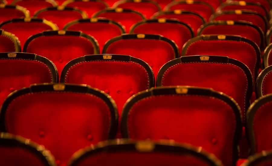 Old theatre seats