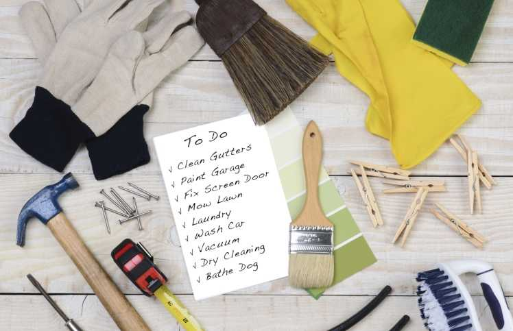 Tackling to dos on Labor Day -- list of to-dos.
