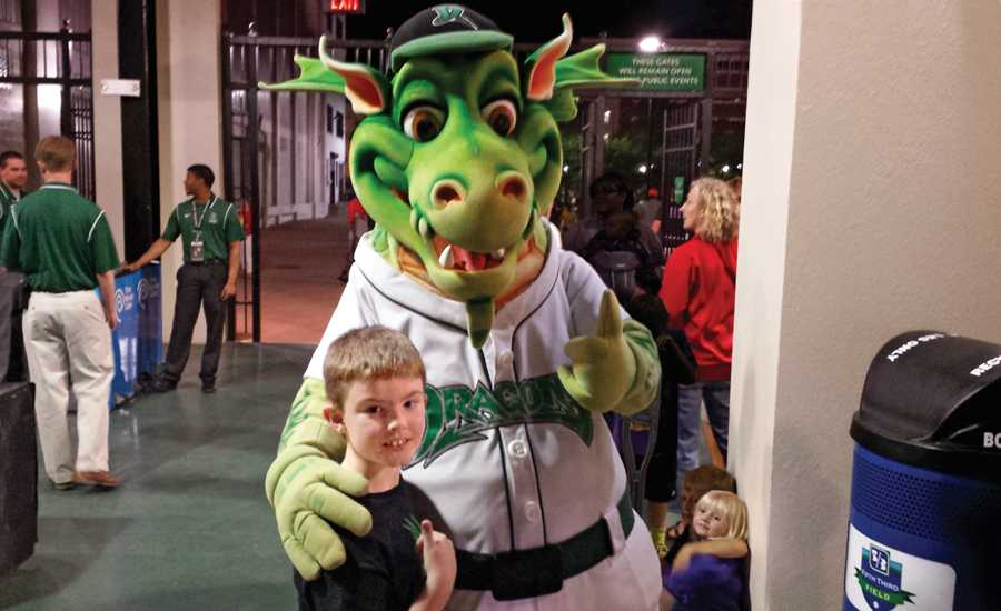 Hunter with Heater the Dragon