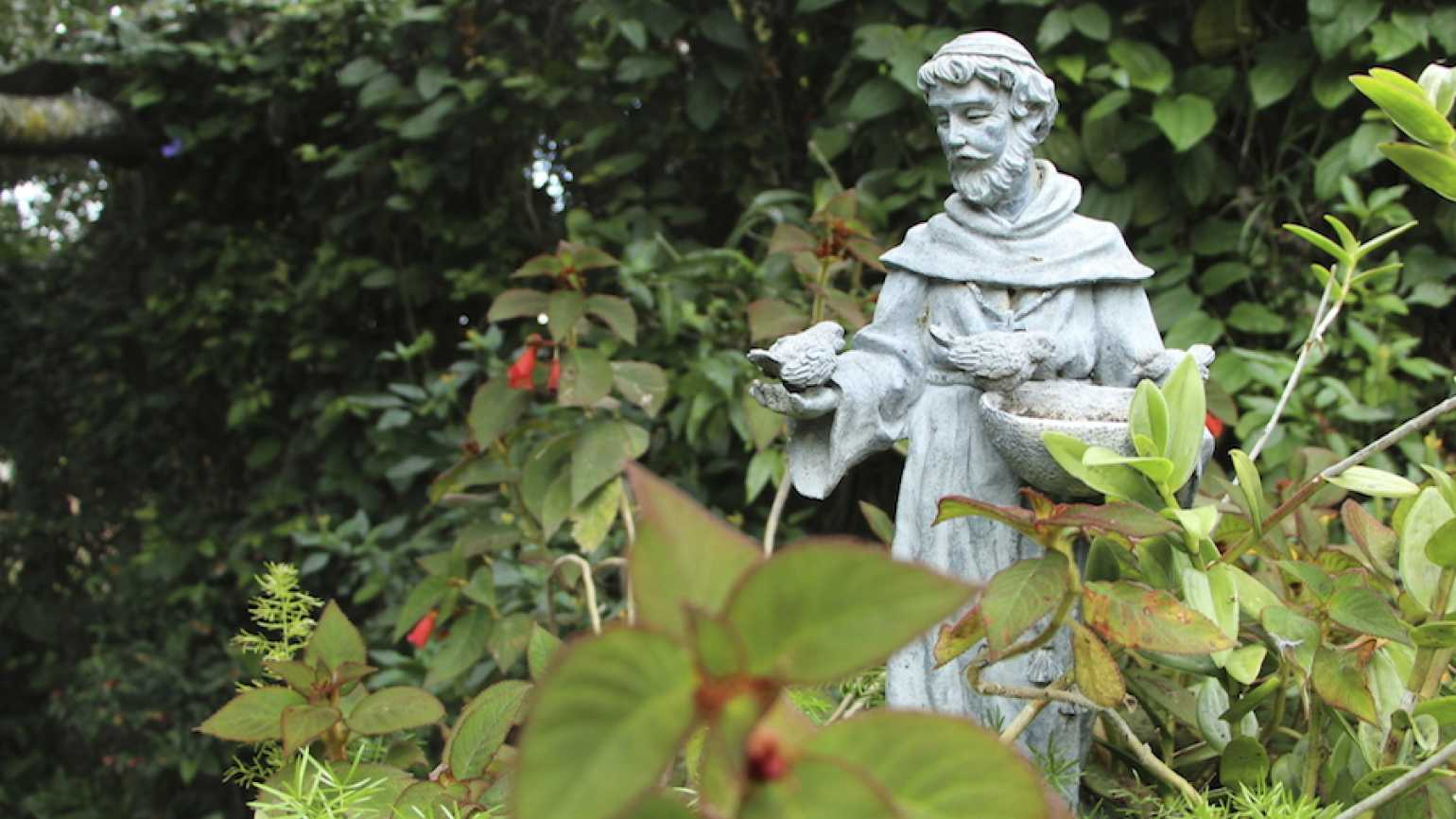 St. Francis of Assisi who lived a Jesus-like model of love.