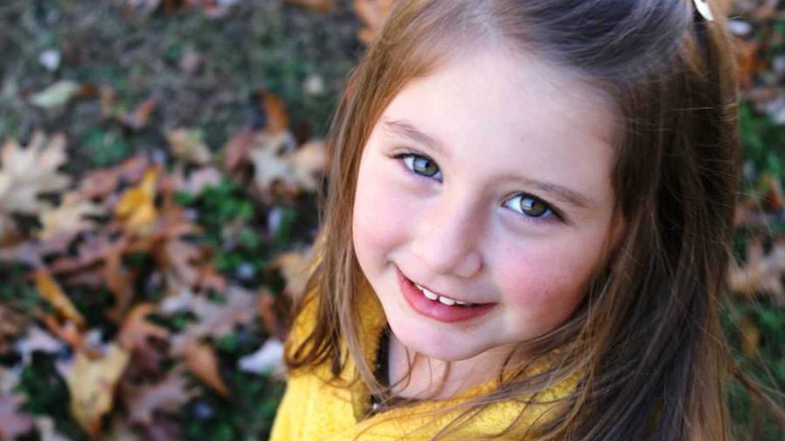 Michelle's granddaughter, Anna, loves to encourage others to come to church.