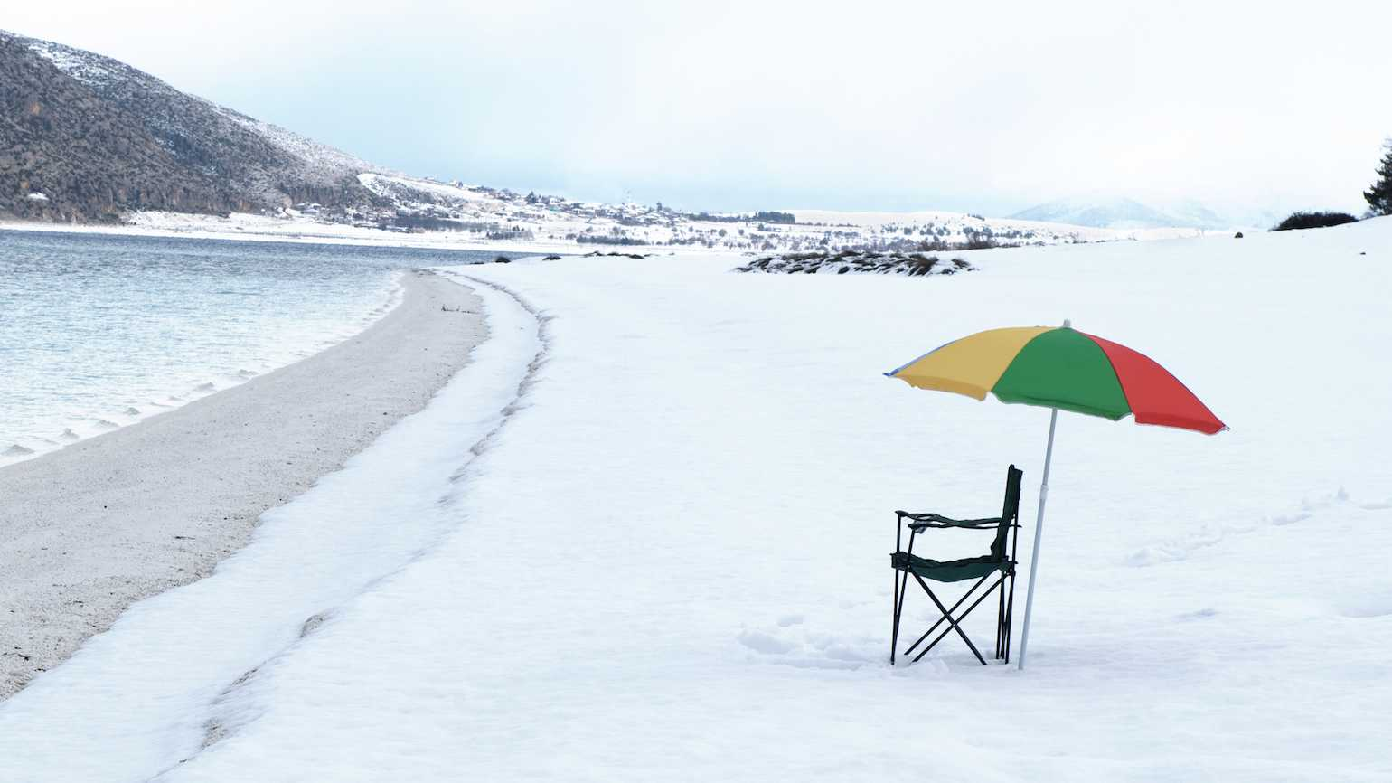Finding a beach day in the middle of winter
