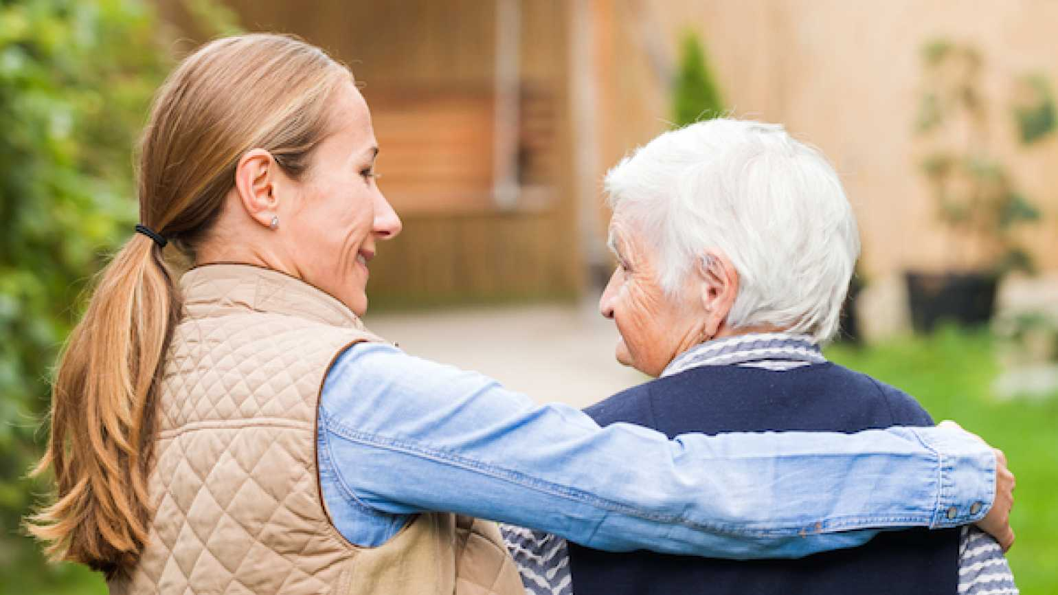 Advice and comfort for stressed out caregivers.