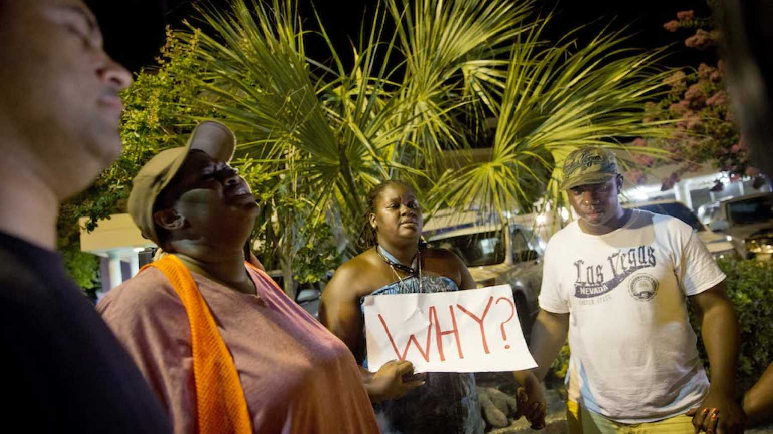 Charleston church shootings prayer circle; Guideposts