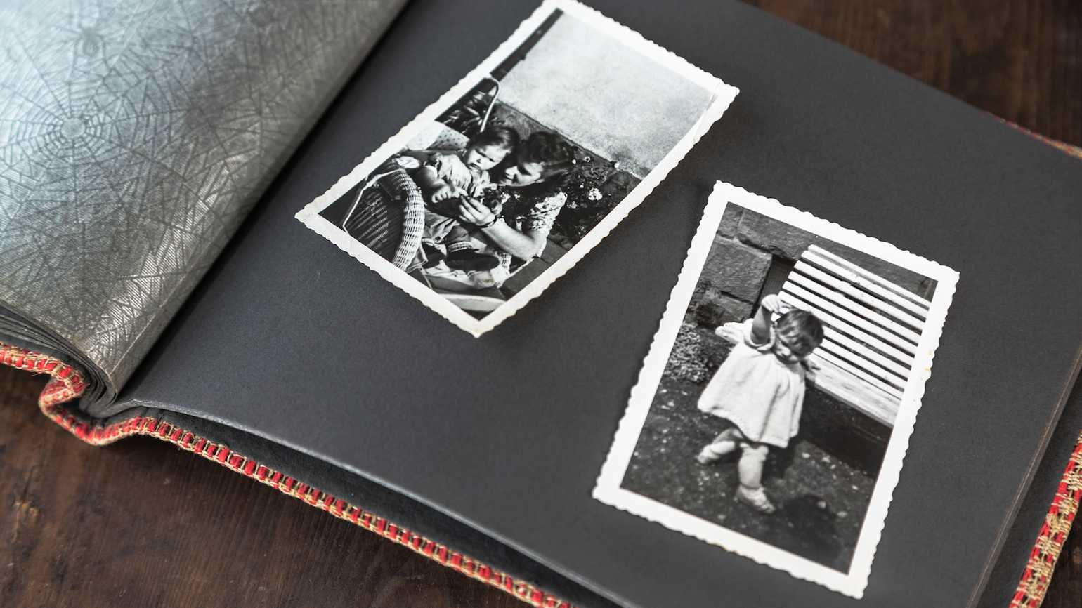 Family photos and family memories