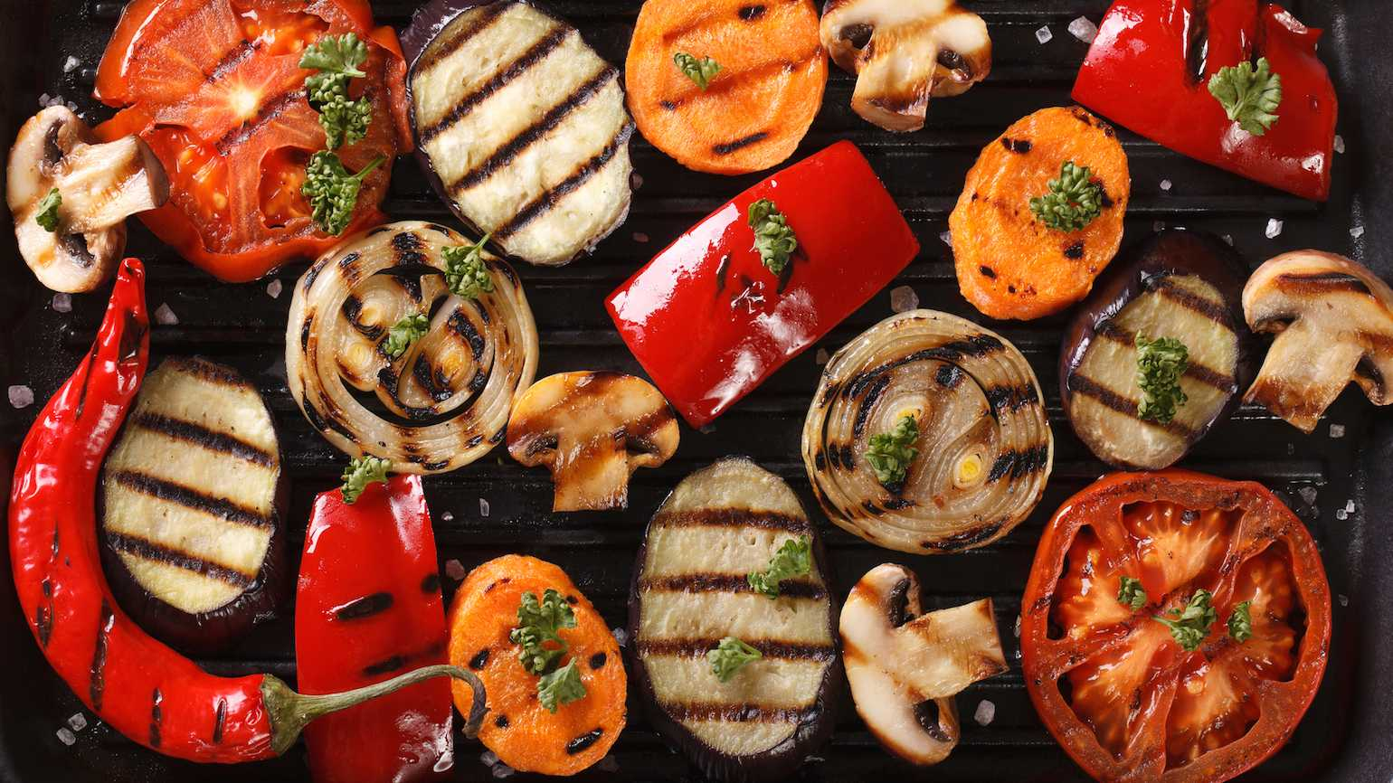 How to make fresh, flavorful grilled vegetables
