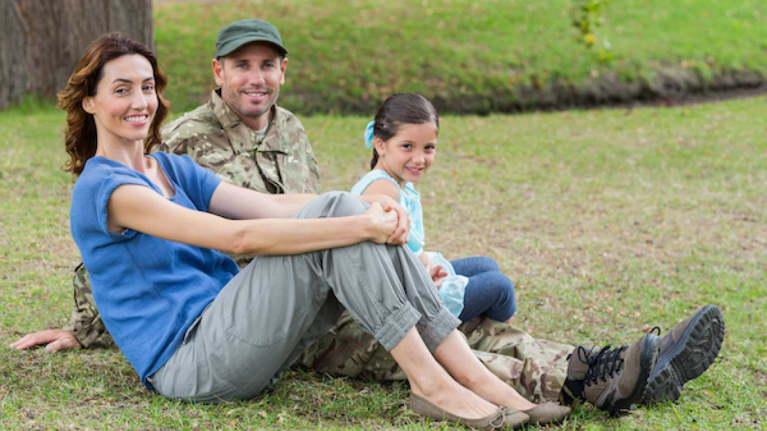 Why military families make the best friends.