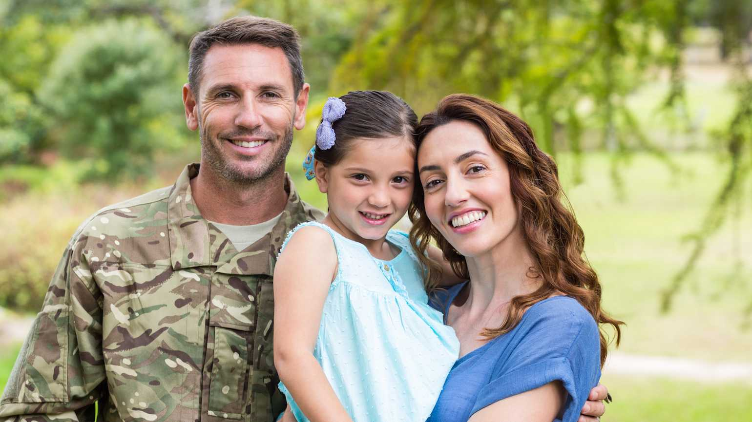 Appreciating military spouses.