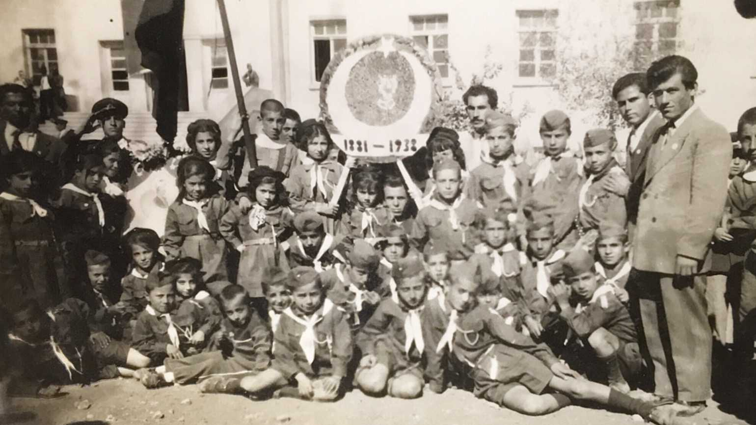 Finding a miracle in an old class photo.