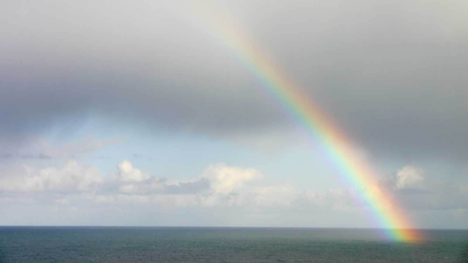 Are rainbows signs from God?