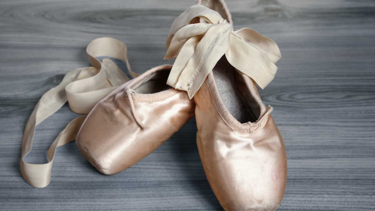"""Toe shoes. May your time to """"dance"""" in life come around after tough times."""