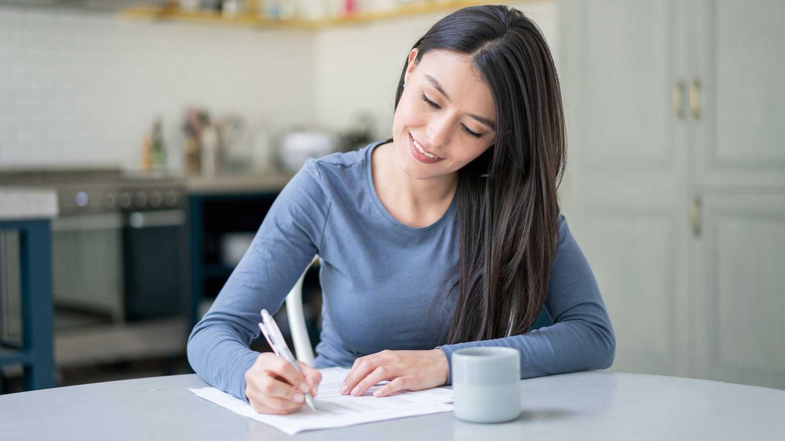 Writing a note is an act of kindness
