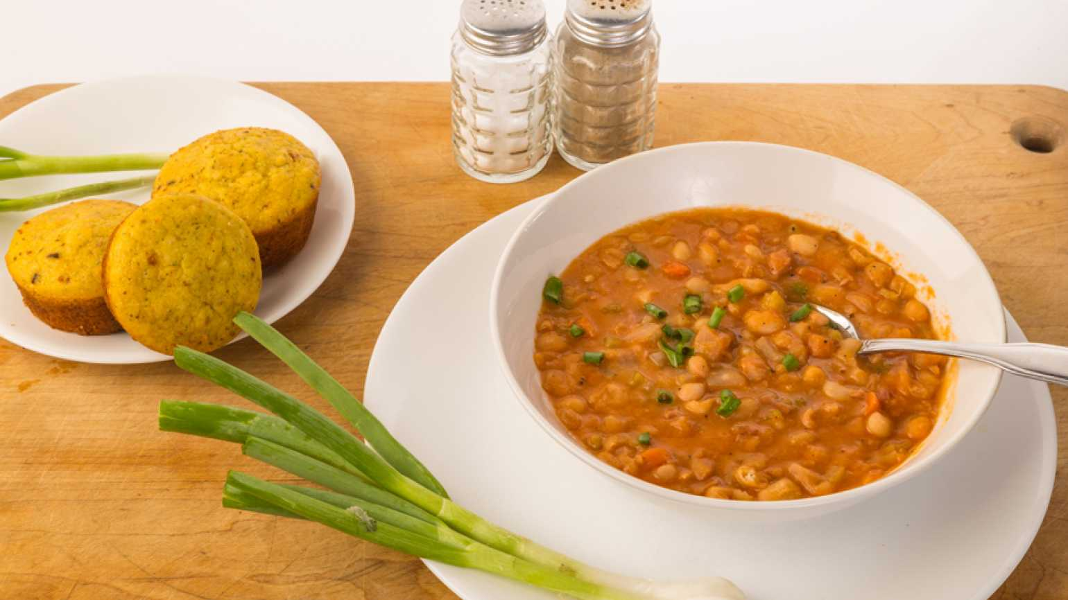 vegetable soup and cornbread healed her soul and sparked an idea to help others