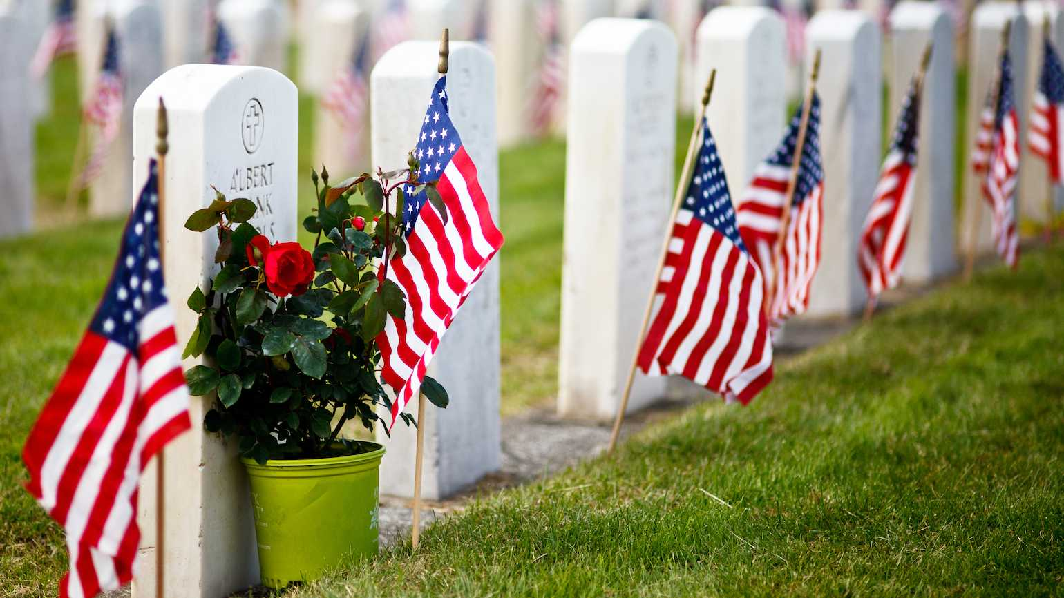 Memorial Day remembering the military