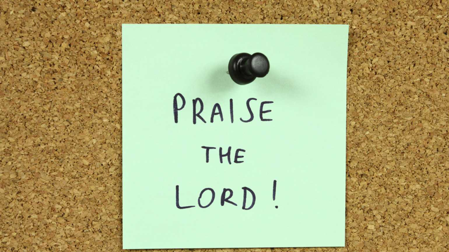 praise the lord post it