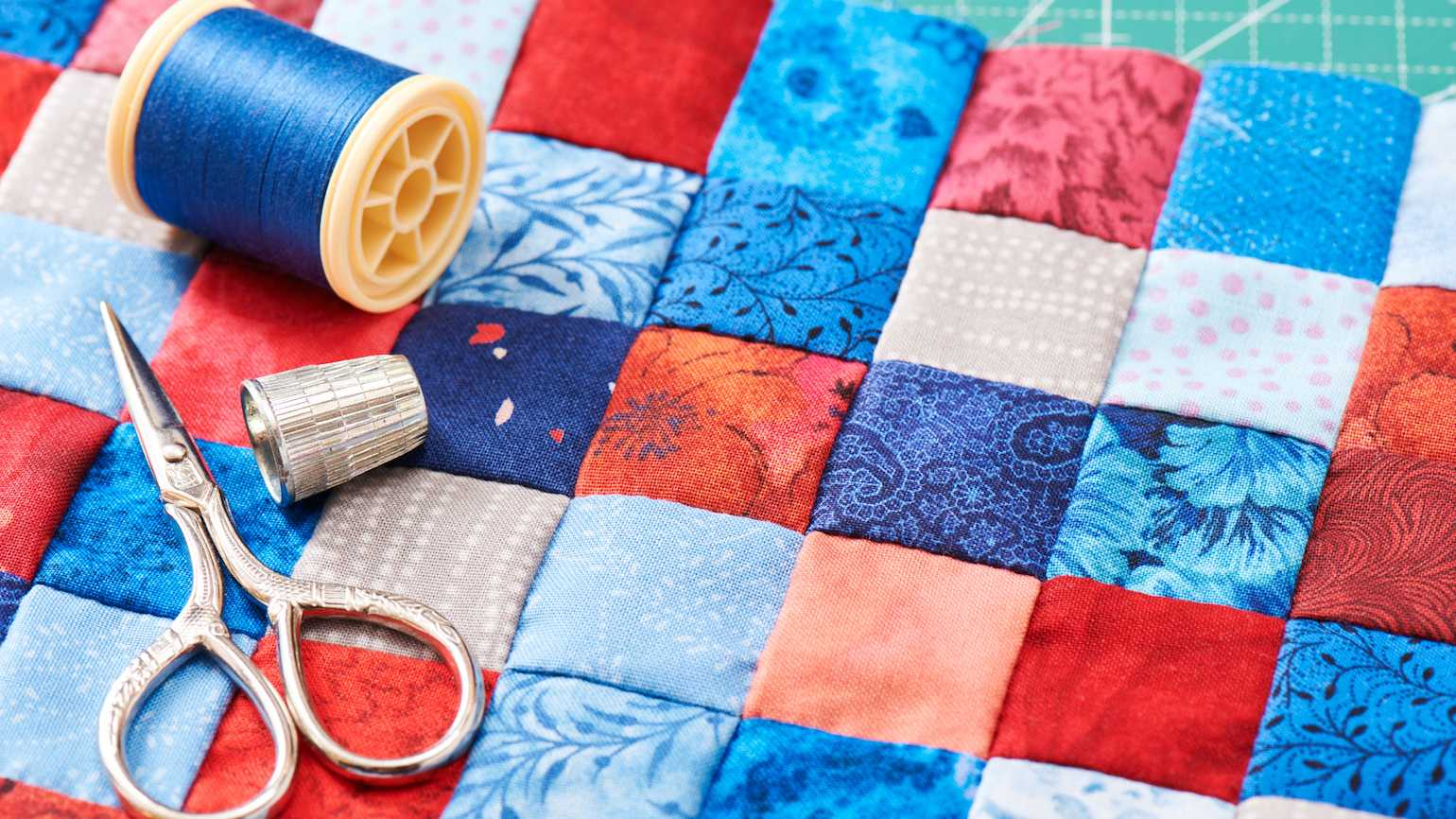 Quilting and military life.
