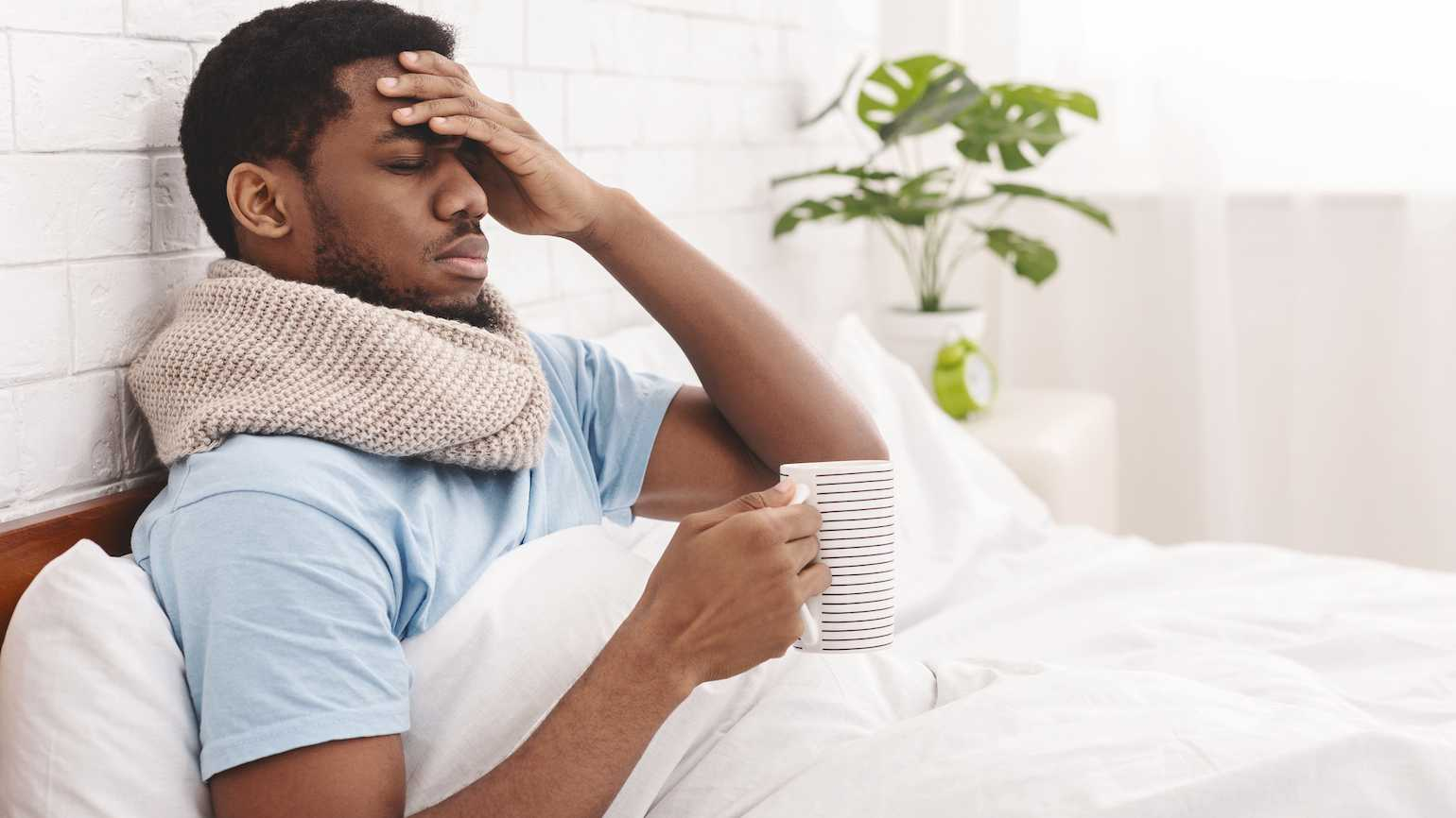 How to rest when you have the flu