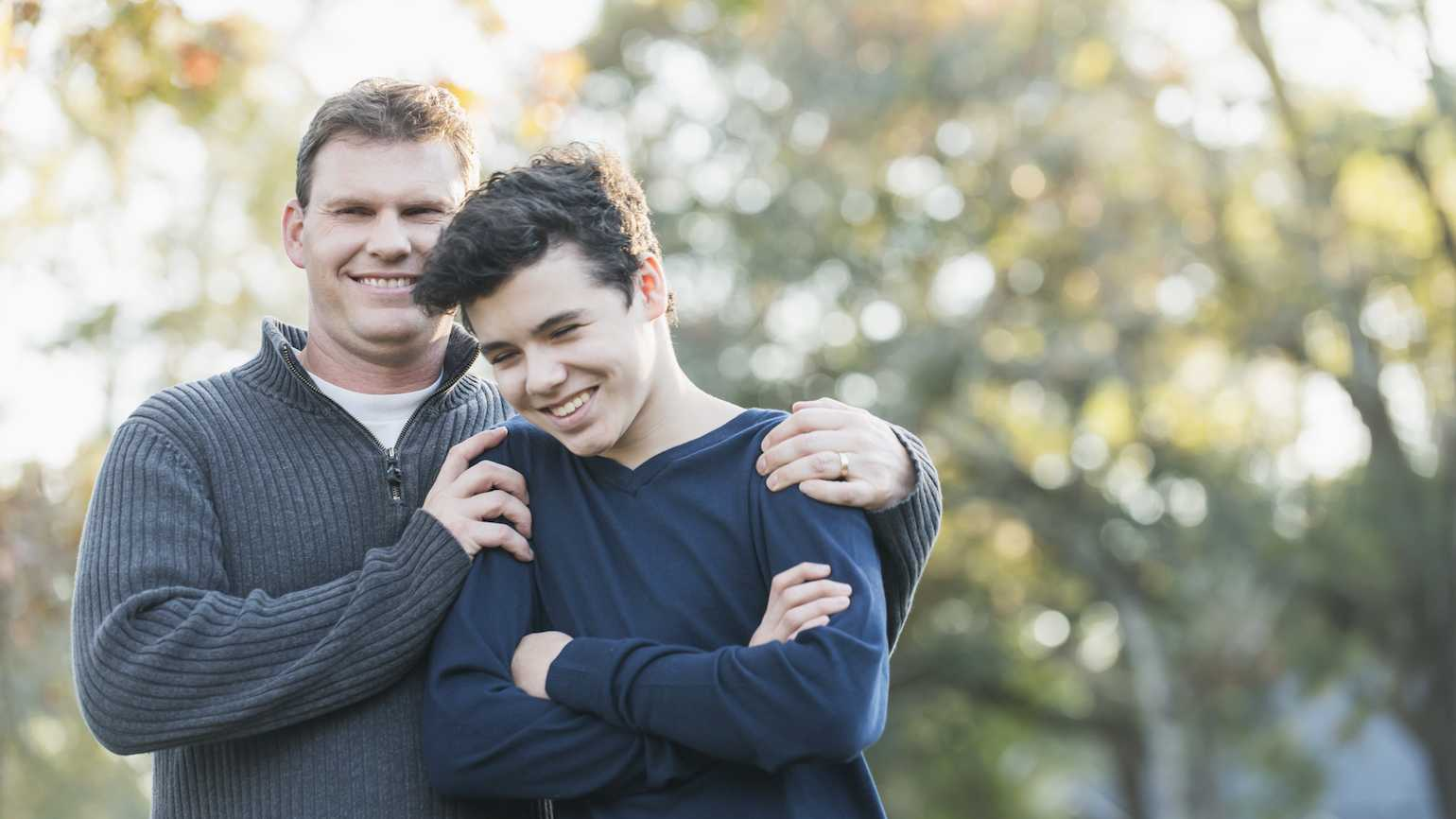 Support teenagers in military families.