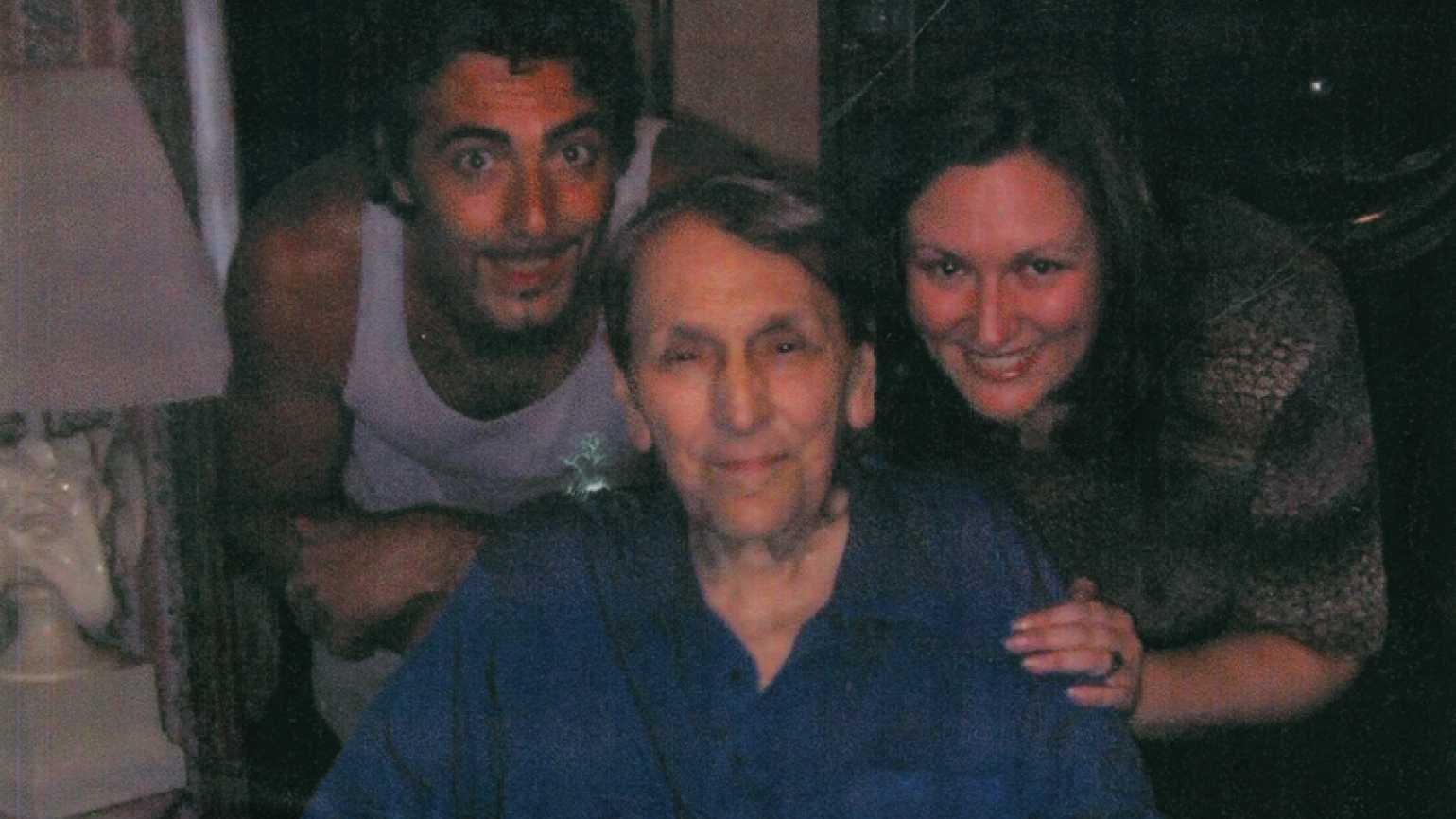 Antoinette Rainone, Angelo and her father