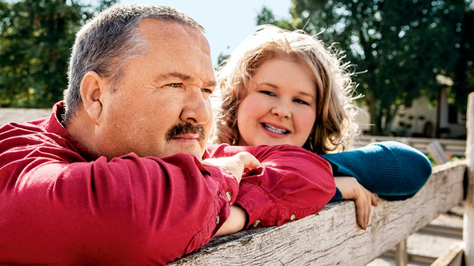 Brian Brown with his daughter Heather