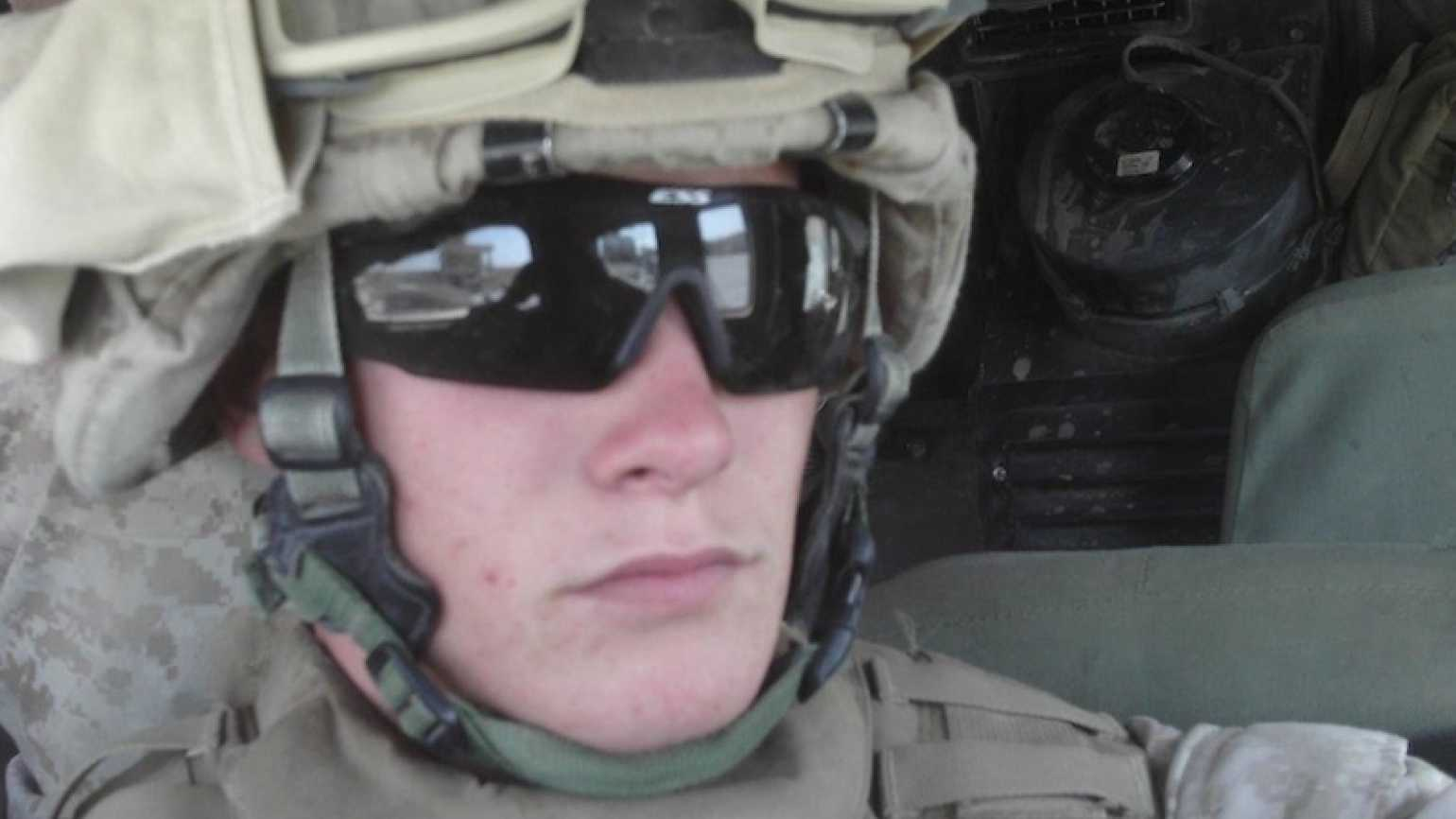 Edie's Marine Corps son, Jimmy Melson.