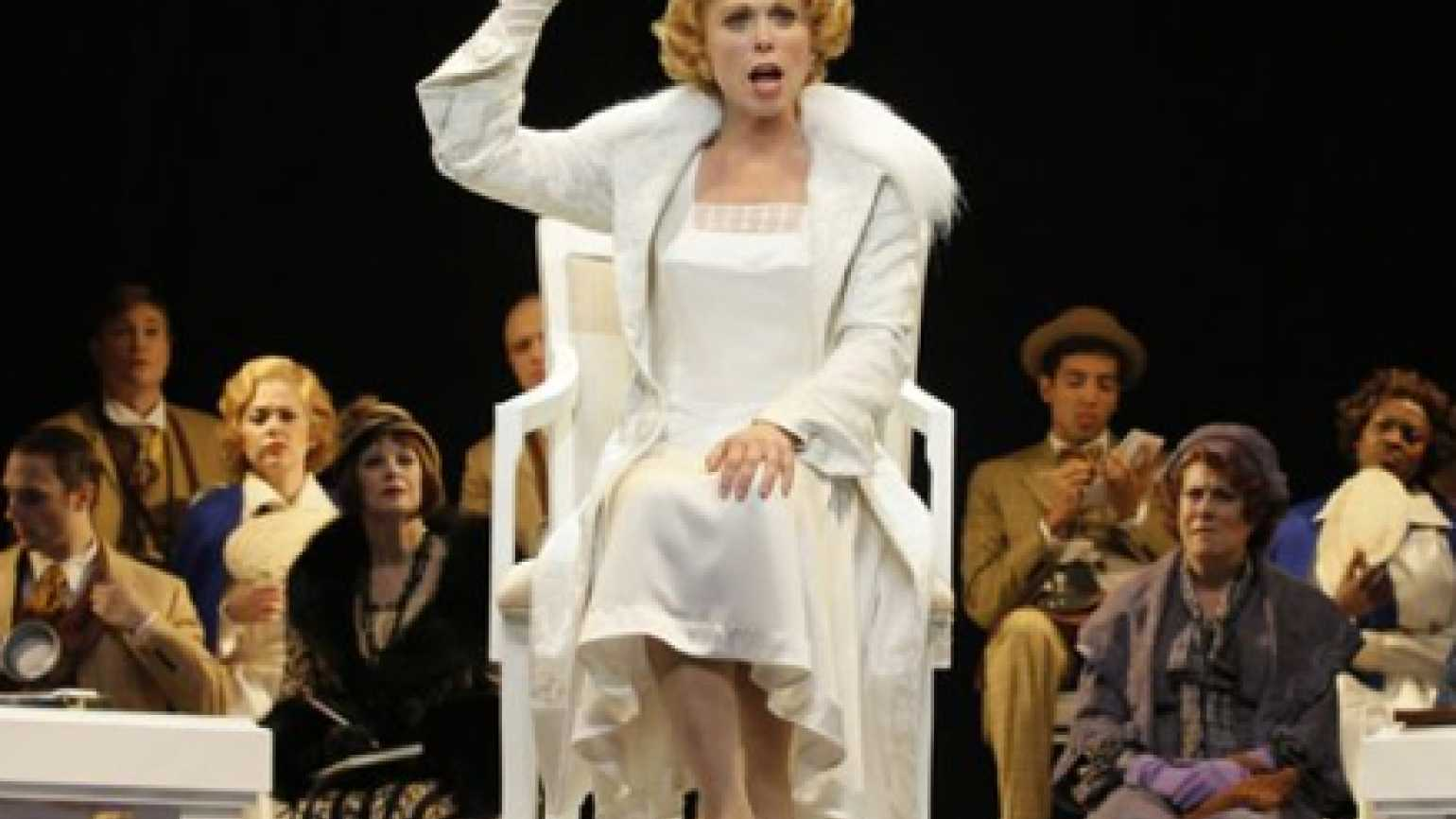 """An image from the Broadway musical """"Scandalous."""" Photo: 2011 Chris Bennion."""